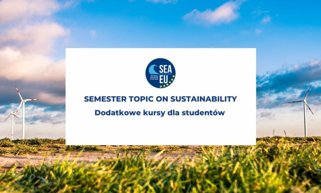 Semester Topic on Sustainability